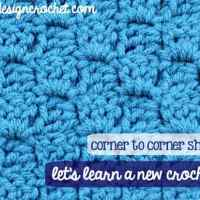 Corner-to-corner Shell Stitch