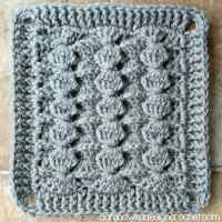 Chinese Puzzle 8 Inch Afghan Block