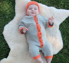 Melkers Summer Jumpsuit and Hat - Sweet Pickles - Book Review -