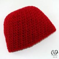 My Little Love| Newborn Baby Hat | Free Crochet Pattern