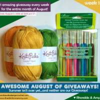 Awesome August of Giveaways!