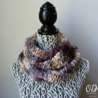 Serendipity Scarf - July's Scarf of the Month Club Free Pattern