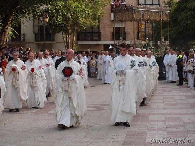Celebración de Corpus Christi en Ciudad Real 2011