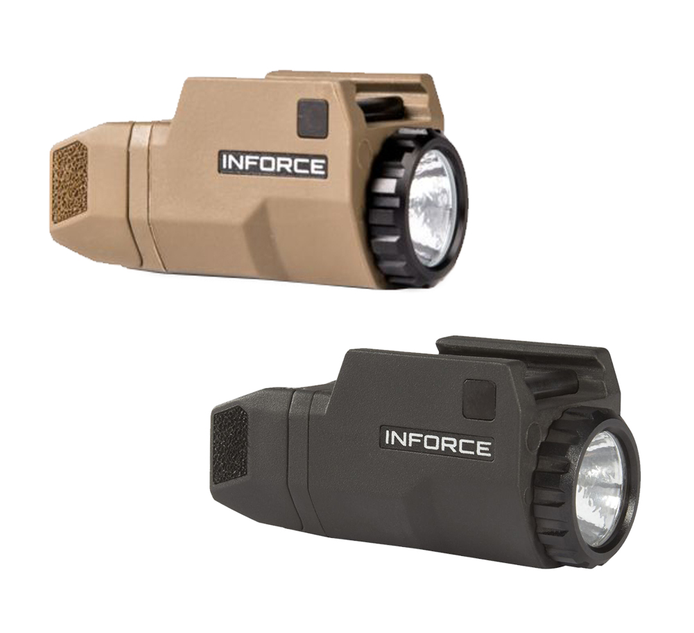 200 Lumen Inforce 200 Lumen Aplc Glock Compact Weapon Light