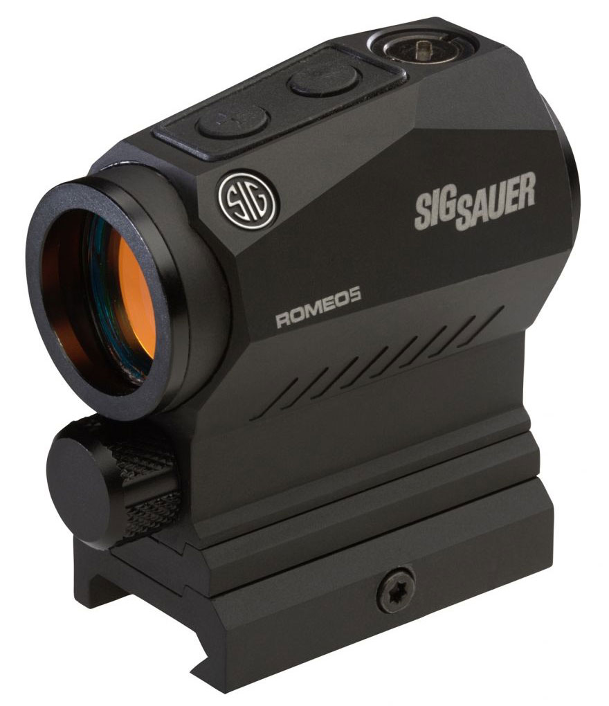 Compact Bad Sig Sauer Romeo 5 Compact Red Dot Sight 1x20mm 5 Moa Adjustable