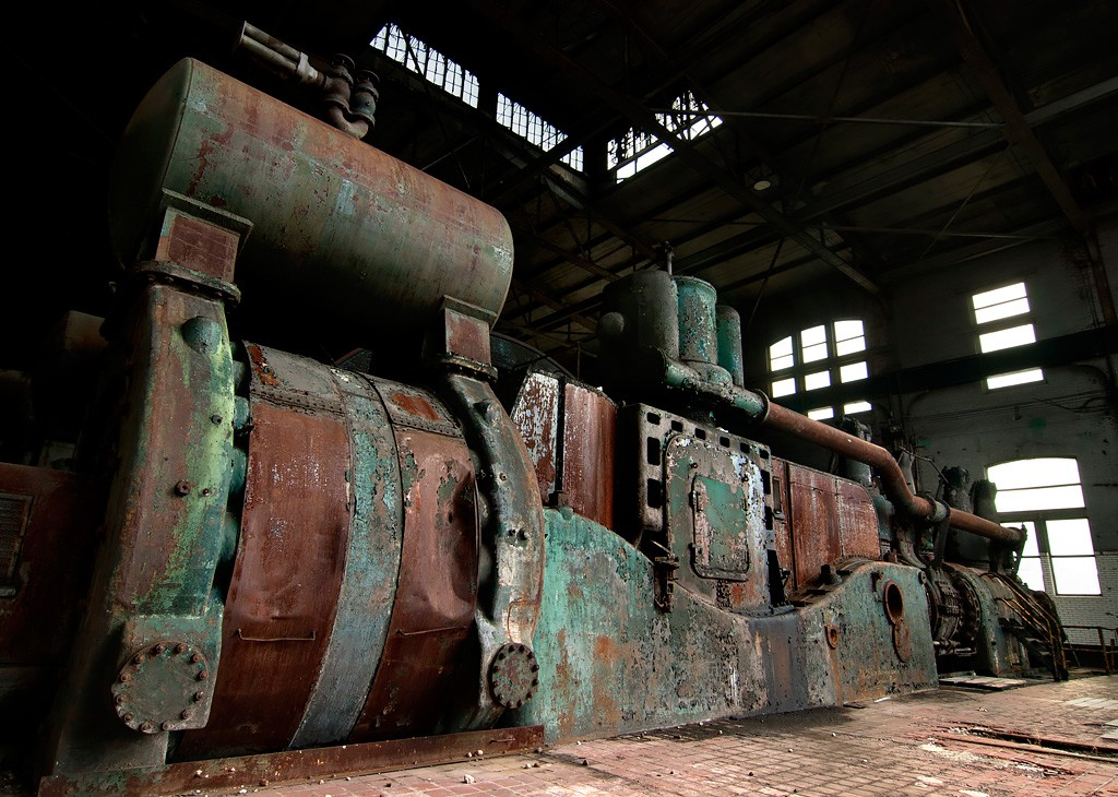 Ovens Engine - Photo Of The Abandoned Bethlehem Steel Mill