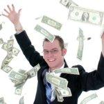 obrázek muže s penězi