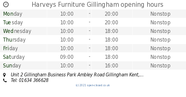 Harveys Sofas Gillingham Harveys Furniture Gillingham Opening Times, Unit 2