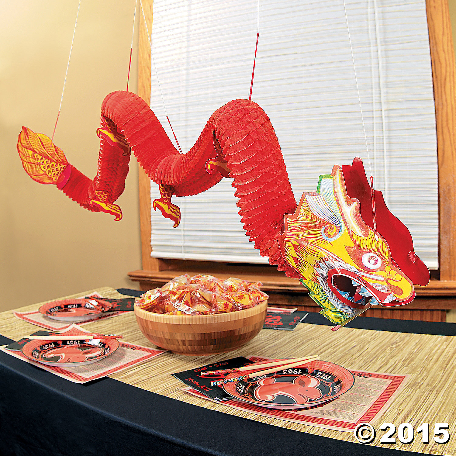 Chinese Dragon Decor Chinese New Year 2018 Decorations And Party Party Supplies