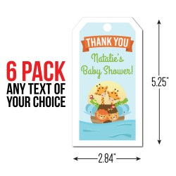 Brilliant Ark Personalized Thank You Tags Ark Baby Shower Party Supplies Canada Open A Party Ark Wiki Dye Table