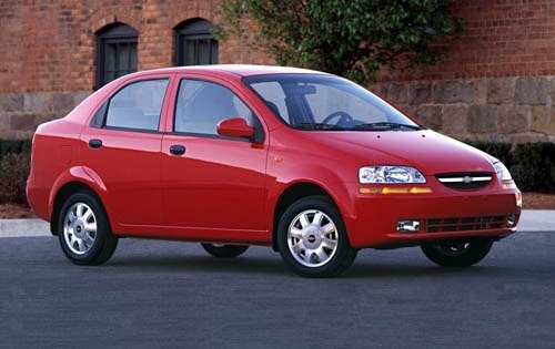 Maintenance Schedule for Chevrolet Aveo Openbay