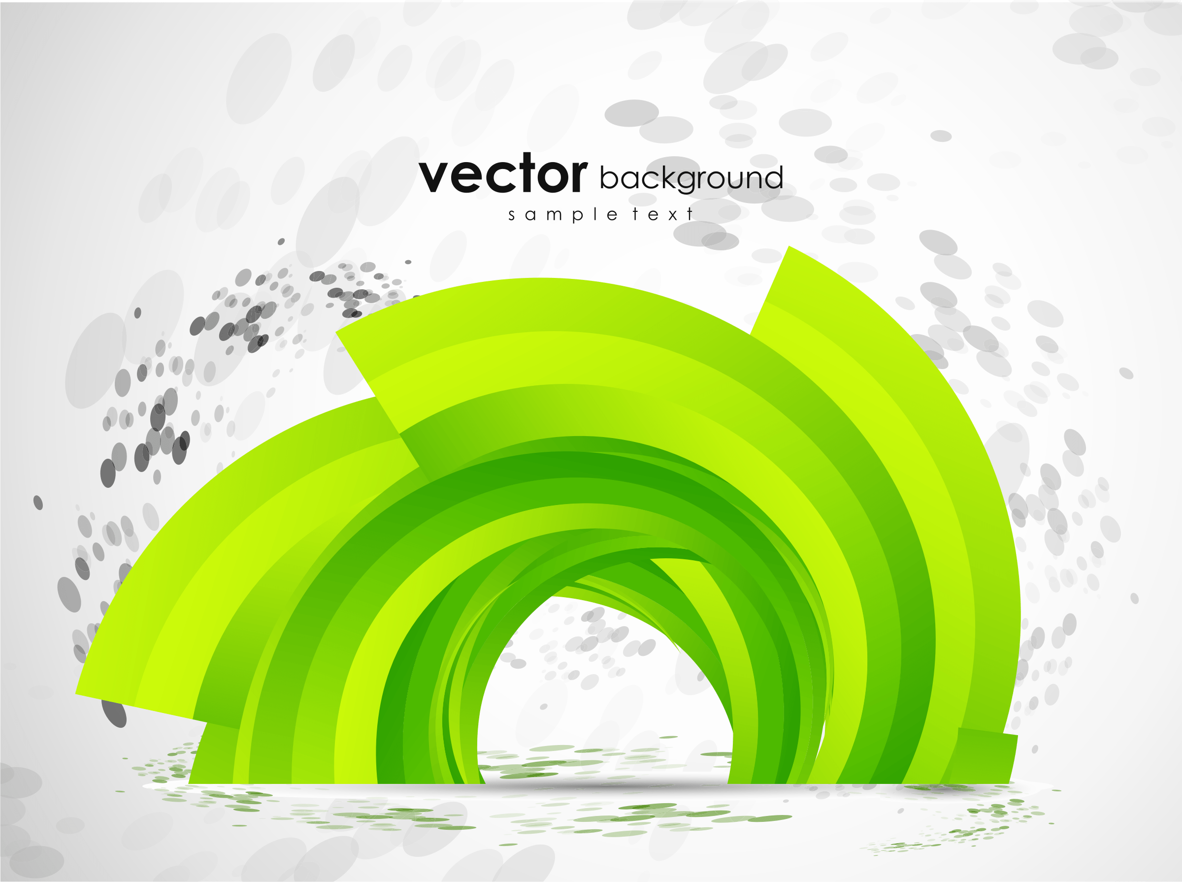 Free Download Wallpaper 3d Graphic Clipart Green Abstract Vector Background