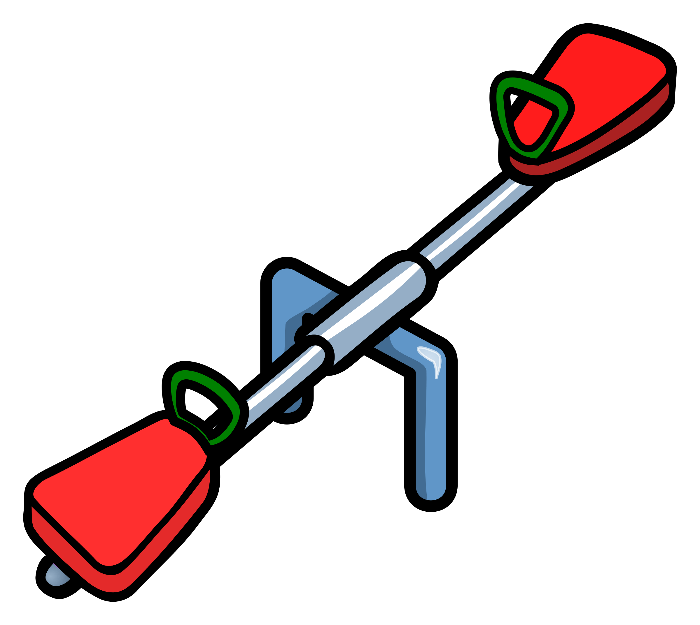 Big Wippe Clipart Seesaw Coloured
