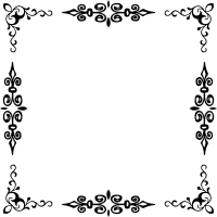 Clipart - Elegant Frame 5