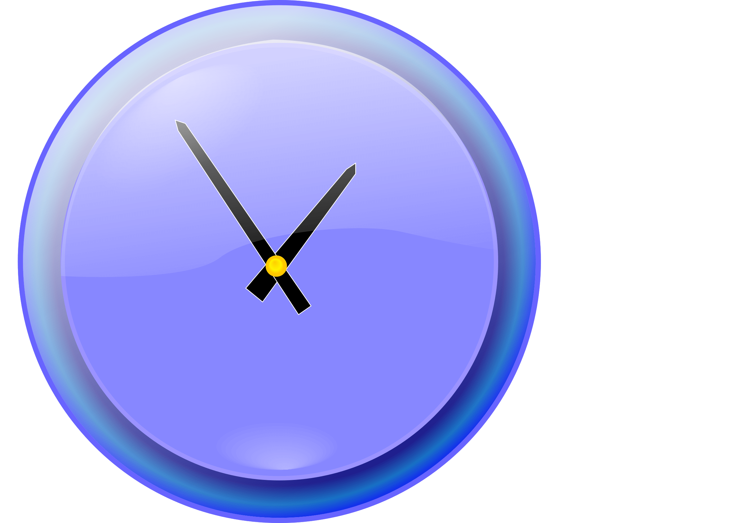 Online Analog Clock Clipart Analog Clock
