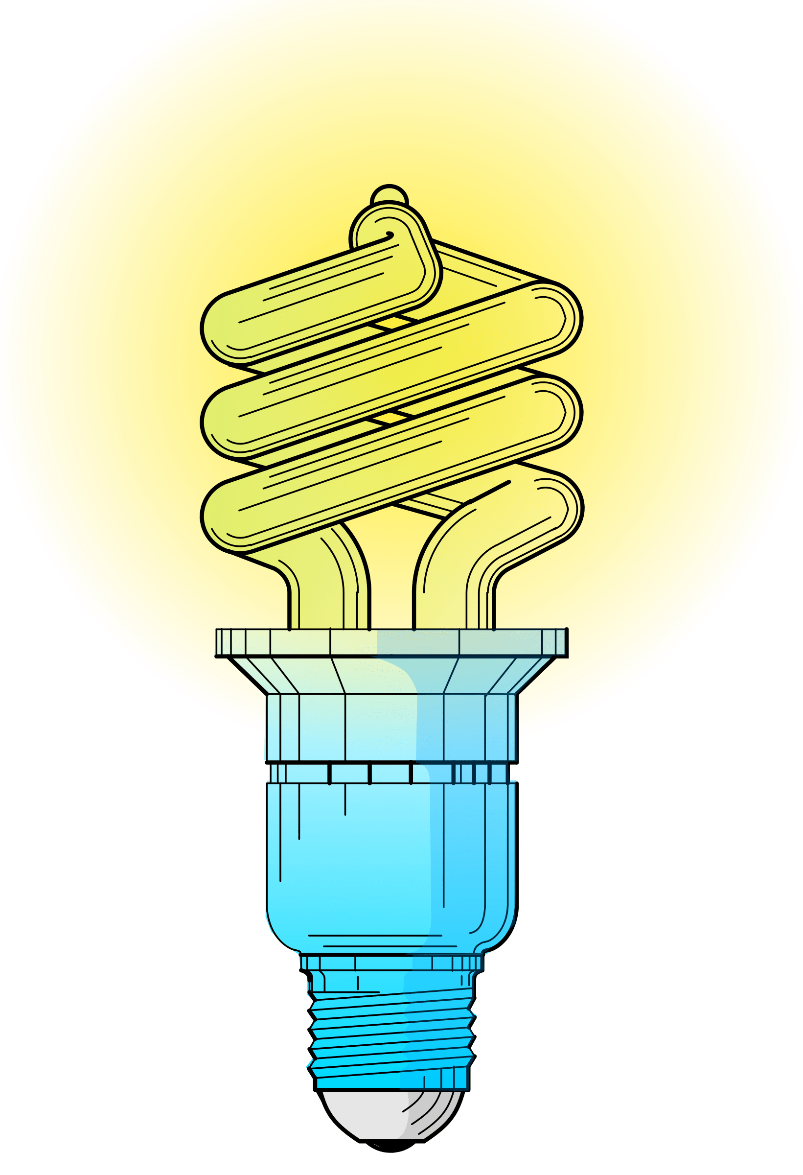 Glowing Light Bulb Png Clipart Light Bulb