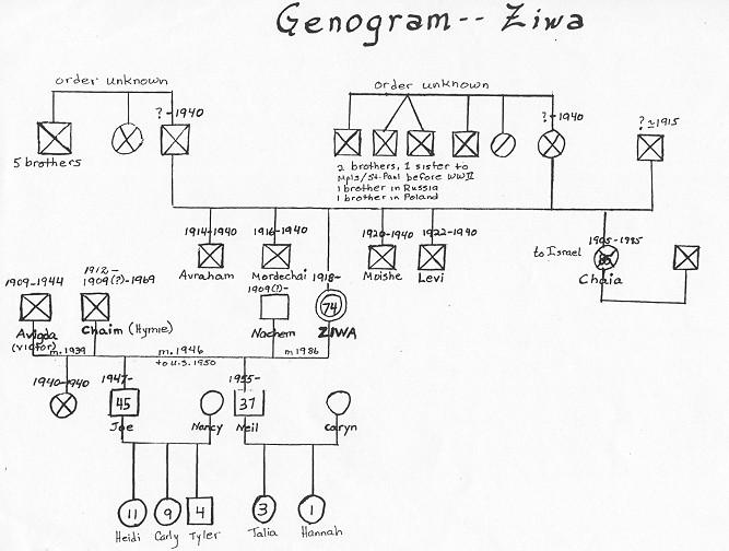 genogram examples 4 generations - Onwebioinnovate - genogram template