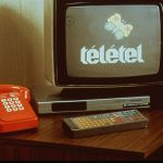 Thomson Videotex terminal used in the Vélizy Télétel trial. November 22, 1980.
