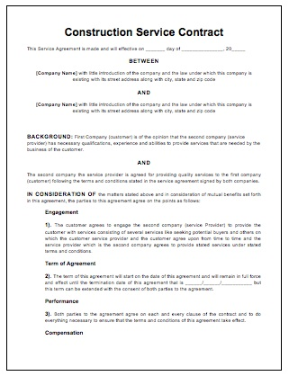 Sample Basic Contract Template Employee Employment Contract Sample