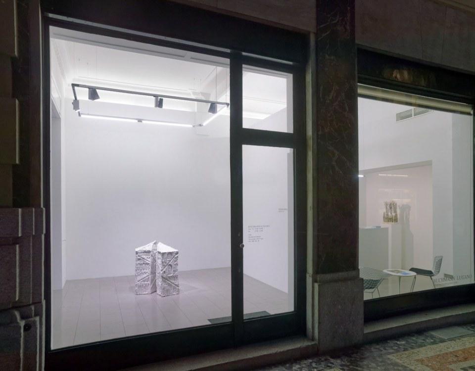 LUGANO, 21.11.2016 - Thomas Virnich, Mailaender Dom. Buchmann Galerie, Agra / Lugano.   copyright by buchmann galerie agra-lugano + www.steineggerpix.com / photo by remy steinegger