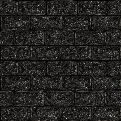 Black 3d Brick Wallpaper Black Brick Wall 512px Opengameart Org