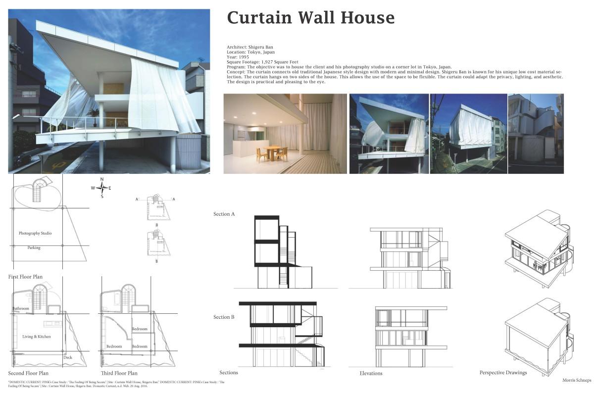 Curtain Wall House Arch2310 Design Iii Fa2016