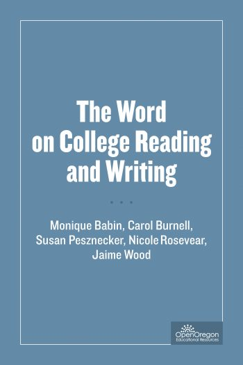The Word on College Reading and Writing \u2013 Simple Book Publishing