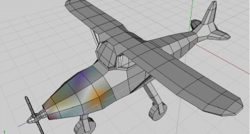 Wings 3D and the GIMP: Quickly Modelling and Texturing an Airplane