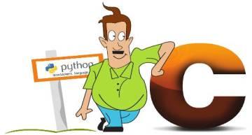 When Python Weds C