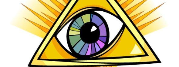 Eye with redshift logo