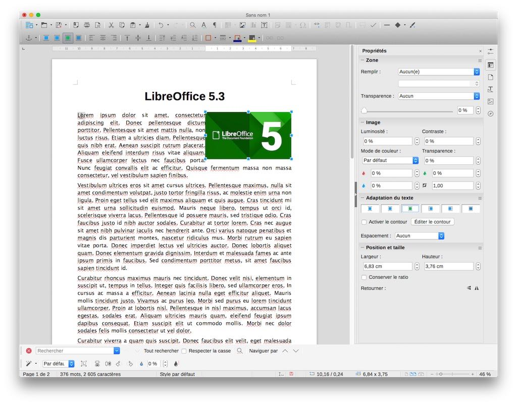 Application Dessin Mac Libreoffice Un Excellent Pack Office Gratuit Pour Votre Mac