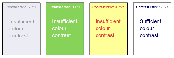 Colour Contrast \u2013 Accessibility Toolkit \u2013 2nd Edition