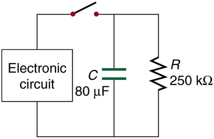 DC Circuits Containing Resistors and Capacitors \u2013 College Physics