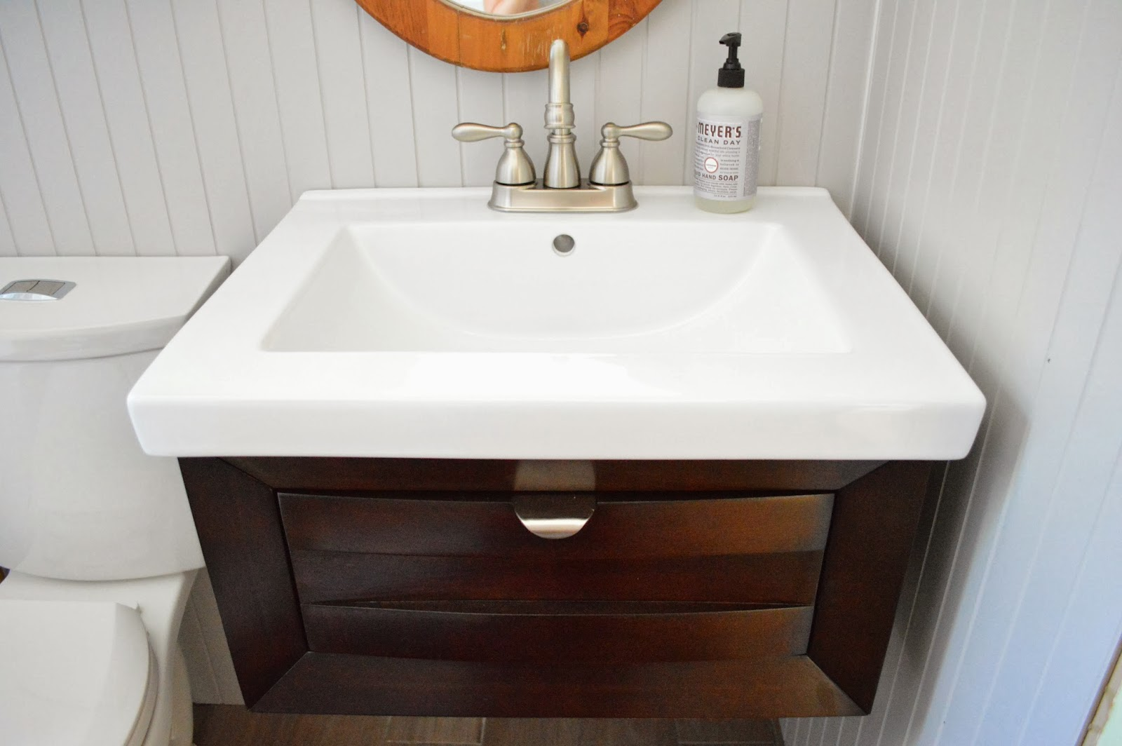 Narrow Double Sink Vanity March 2016 Bathroom Inspired 2016