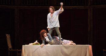 Simon Keenlyside, Malin Byström, fot. Marty Sohl / Metropolitan Opera