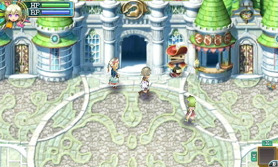 Rune Factory 4 - Town Square   oprainfall