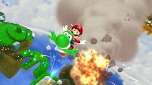 Sonic Lost World X Super Mario Galaxy | oprainfall