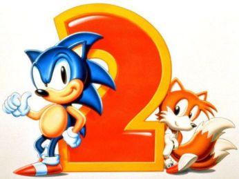 Sonic the Hedgehog 2 - Classic Logo | oprainfall