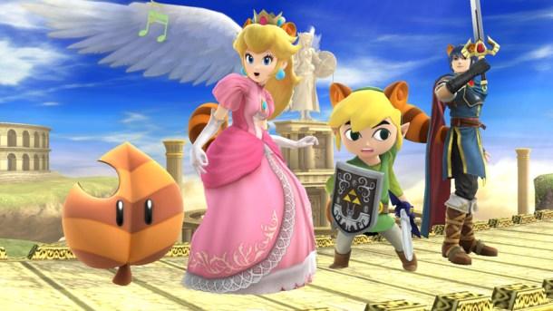 Smashing Saturdays - Peach, Link, and Marth: Super Leaf | oprainfall