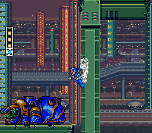 Mega Man X | Wall Jump