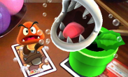 N3DS Photos with Mario - Piranha Plant
