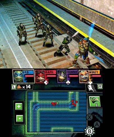 Teenage Mutant Ninja Turtles screens
