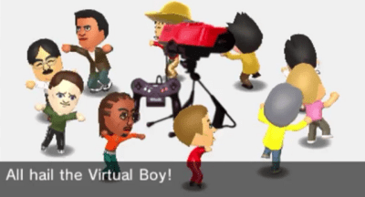 Tomodachi Life - All hail the Virtual Boy