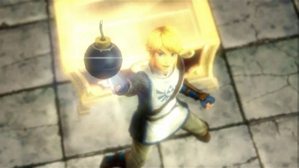 Hyrule Warriors - Finding Bombs