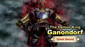 Hyrule Warriors - Ganondorf Reveal