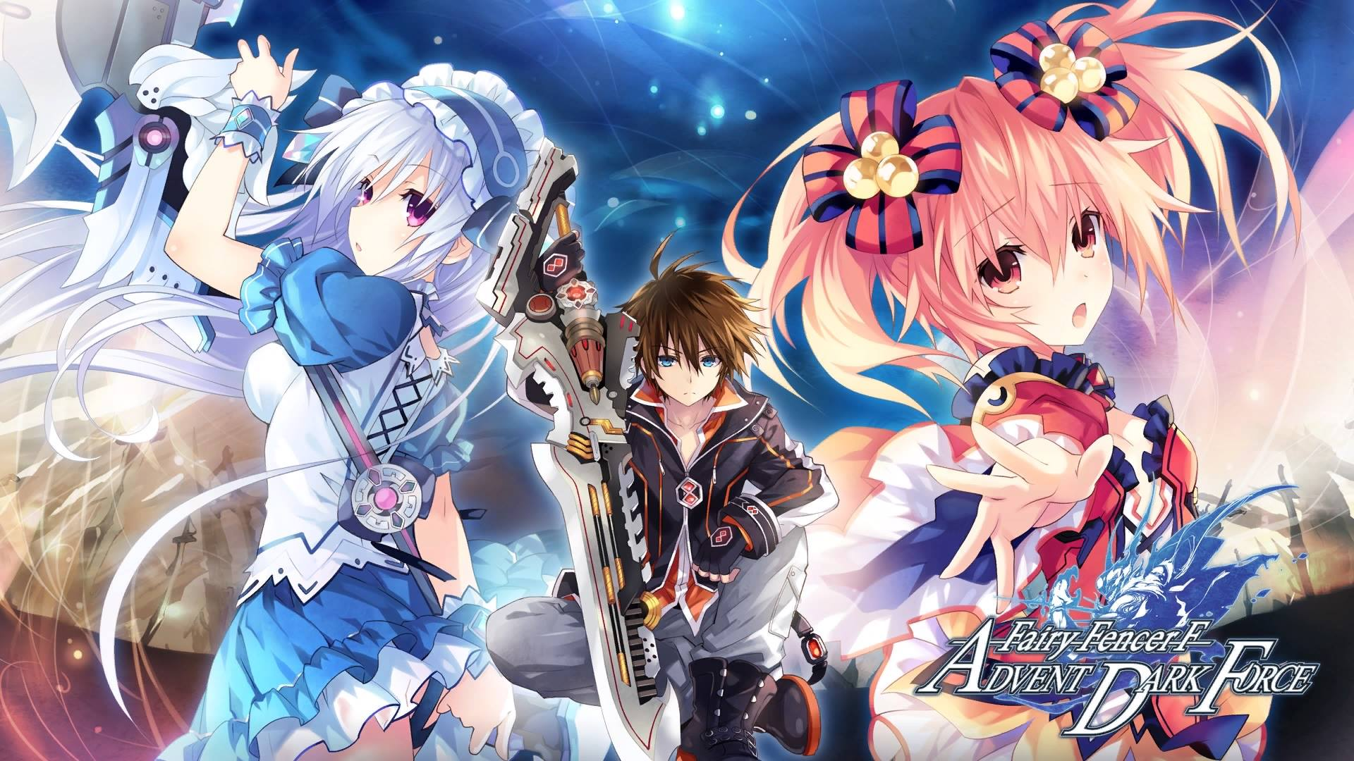 Rain Fall Live Wallpaper Review Fairy Fencer F Advent Dark Force Part 2