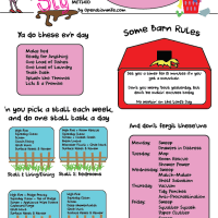 The Pig Sty Method Rotation Chart: Free Printable