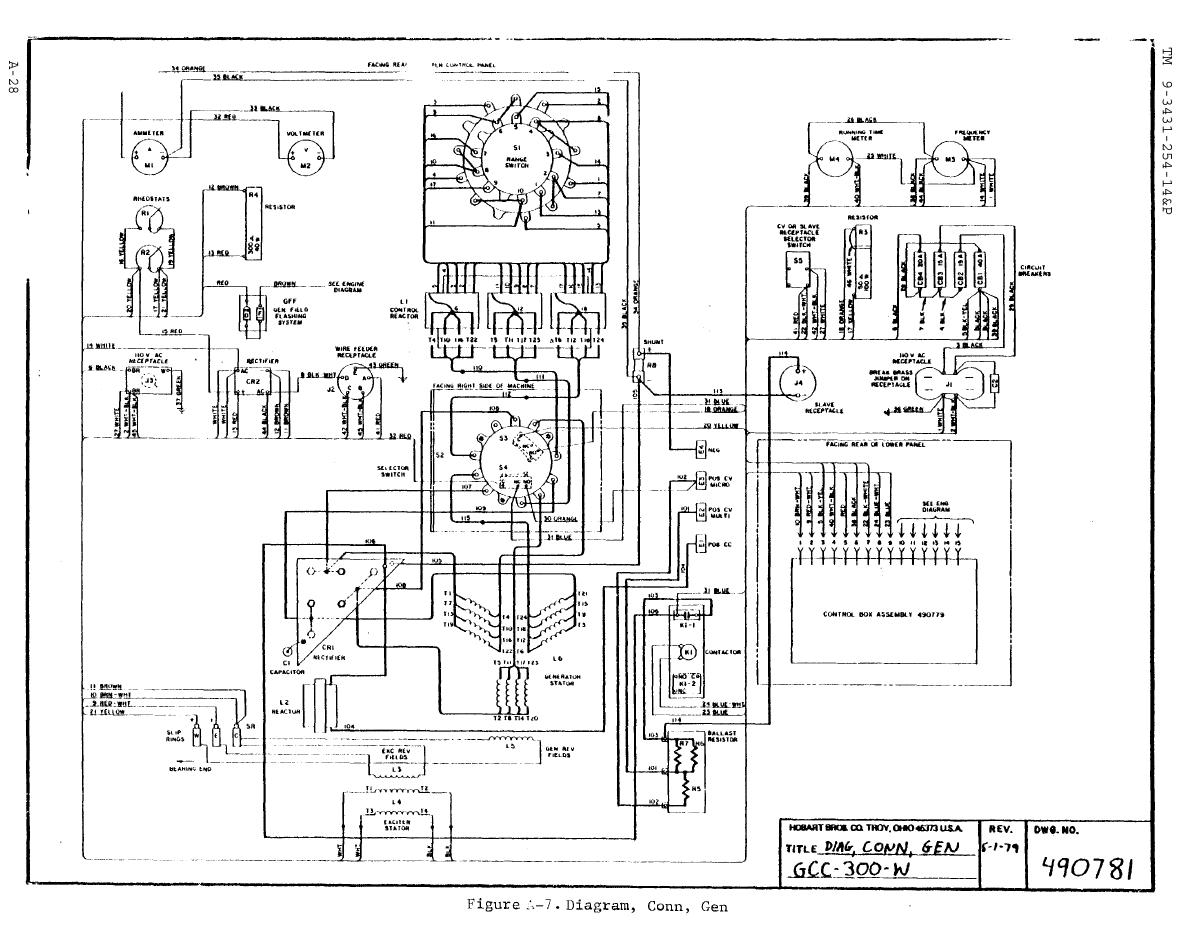 arc 200 welding machine circuit diagram
