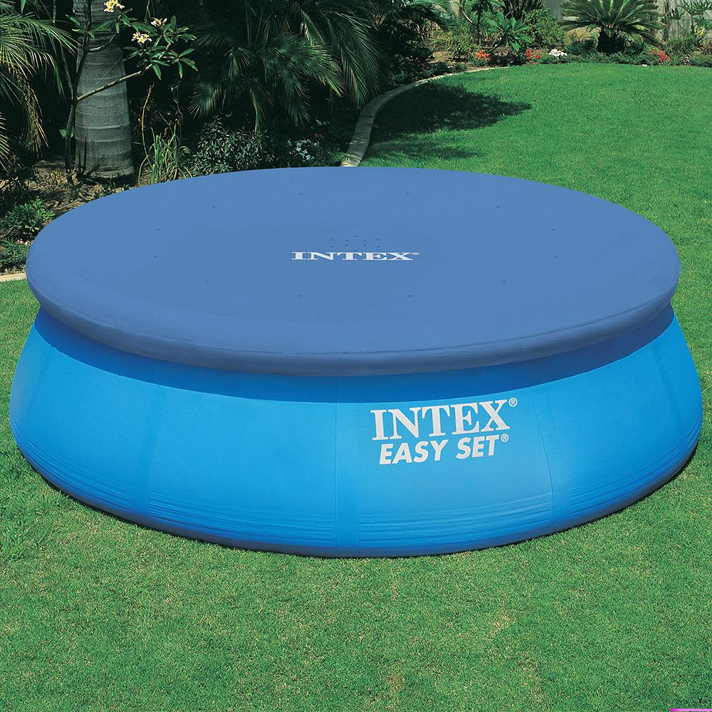 Capa De Piscina Intex Capa P Piscina Easy Set Circular 457cm Intex é Bom Vale A Pena