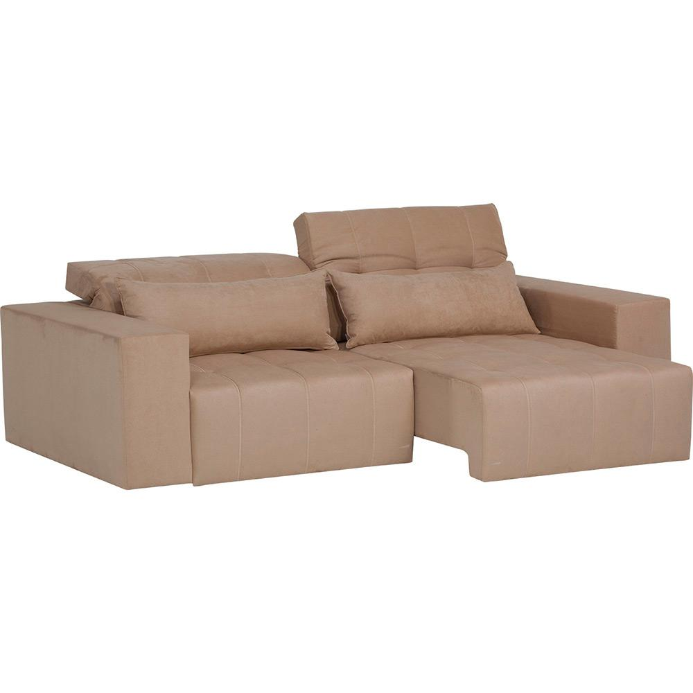 Sofa Retratil E Reclinavel Submarino Sofá 2 Lugares Reclinável E Assento Retrátil Strauss Suede Rato
